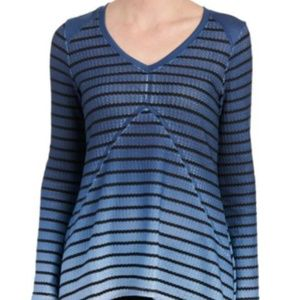 Live and Let Live Ombre Striped Long Sleeve Top
